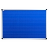 "Viztex Fabric Bulletin Board with an Aluminium frame (36""x24"")"