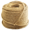 "Anchor Brand Manila Rope, 3-Strand, 1/2"" x 600ft, 45lb"