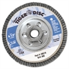"Tiger Disc Angled Style Flap Disc, 4-1/2"" Diameter"