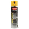 Quik-Mark APWA Solvent-Based Inverted Marking Paint, 20oz, Yellow