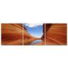 Desert Sandstone Mounted Photography Print Triptych Multi