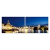 Port Elizabeth Nightlife Mounted Photography Print Diptych Multi
