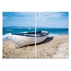 Leisurely Afternoon Mounted Photography Print Diptych Multi