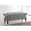 Contemporary Grey Cheshire Bench