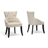 Halifax Beige Linen Dining Chair