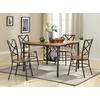 Vintner Dining Set Black/Brown