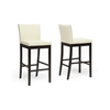 Graymoor Cream Modern Bar Stool
