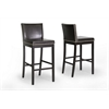 Graymoor Brown Modern Bar Stool Dark Brown