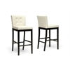 Prospect Cream Modern Bar Stool