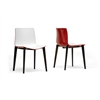 Soren White and Red Modern Dining Chair White/Red