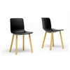 Lyle Black Plastic Modern Dining Chair