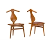 Granard Contemporary Light Brown Wood Dining Chair