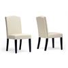 Trullinger Beige Modern Dining Chair
