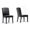 Trullinger Dark Brown Modern Dining Chair