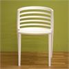 Ofilia White Plastic Chair