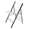 Acrylic Foldable Chair Clear