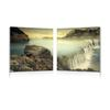 Unbridled Power Mounted Photography Print Diptych Multi