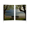 Pristine View Mounted Photography Print Diptych Multi
