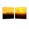 Glorious Giraffes Mounted Photography Print Diptych Multi