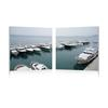 Yacht Congregation Mounted Photography Print Diptych Multi