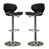 Orion Black Bar Stool