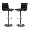 Lyris Black Bar Stool