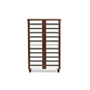 Gisela Oak and White 2-tone Shoe Cabinet With 4 Door Brown/White