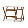 Crossroads Writing Desk Brown