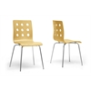 Celeste Birch Modern Dining Chair Natural