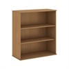48H 3 Shelf Bookcase in Modern Cherry