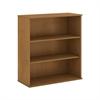 48H 3 Shelf Bookcase in Natural Cherry