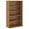 66H 5 Shelf Bookcase in Modern Cherry