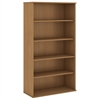 72H 5 Shelf Bookcase in Modern Cherry