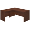 Series C Elite 66W x 30D Desk Shell with 36W Return in Hansen Cherry