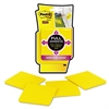 Post-it Full Adhesive Notes, 3 x 3, Electric Yellow, 4/Pack