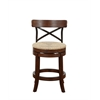 "24"" Myrtle Counter Stool, Mahogony"