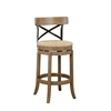 "29"" Myrtle Barstool, Wire-Brush"