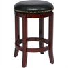 "24"" Cordova Swivel Stool, Cherry"