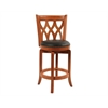 "24"" Cathedral Swivel Stool, ES Cherry"