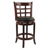 "24"" Kyoto Swivel Stool, Cherry"