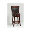 "24"" Bristol Swivel Stool, Cherry"