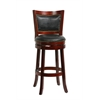 "29"" Bristol Swivel Stool, Cherry"