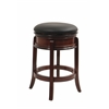 "24"" Magellan Swivel Stool, Brandy"
