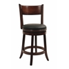 "24"" Palmetto Swivel Stool, Chestnut"