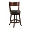 "24"" Palmetto Swivel Stool, Walnut"