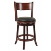 "24"" Palmetto Swivel Stool, Brandy"
