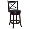 "24"" Georgia Swivel Stool, Cappuccino"