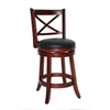 "24"" Georgia Swivel Stool, Cherry"
