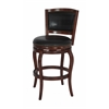 "29"" Harris Memory Swivel Stool, Cherry"