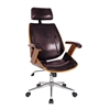 Lucas Desk Chair, Brown